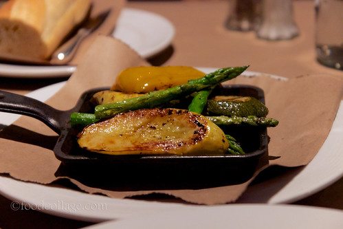 Grilled Vegetables at Braddock's American Brasserie