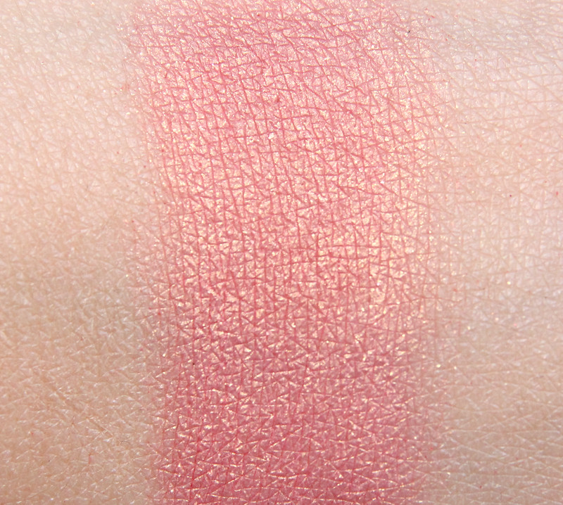 NARS orgasm swatch