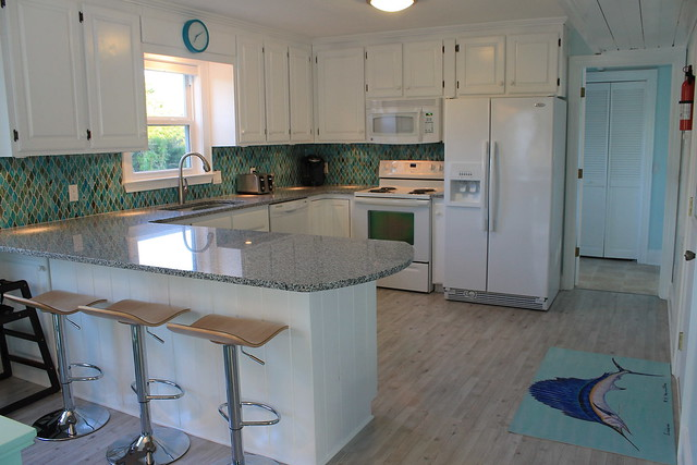 Stranded on Purpose Beach House Kitchen