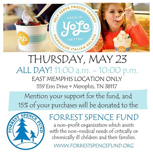 I scream, you scream, we all scream for ice cream (or gelato). Next Thursday eat at Yolo and tell them you are with the FSF and we will receive 15%.  I plan to go a few times that day.