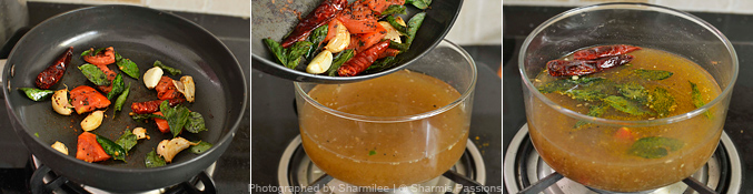 Garlic Rasam Recipe - Step3