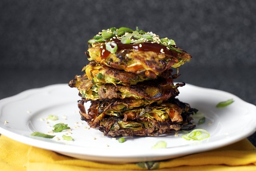 japanese vegetable pancakes, obsessed