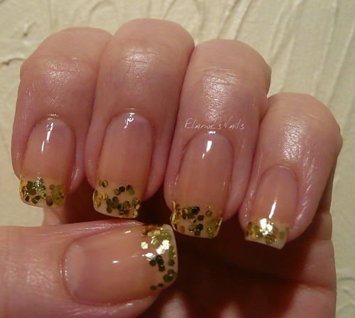 gold french tip 1