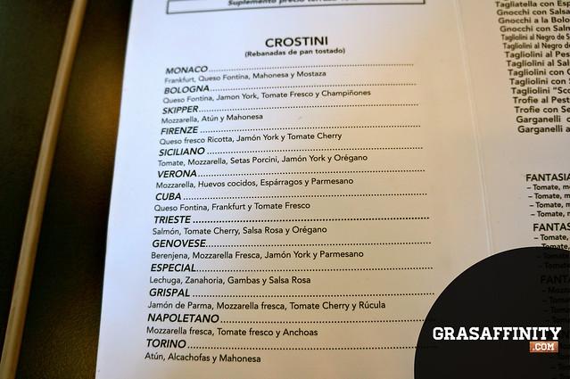 Pizzeria Imperial Carta