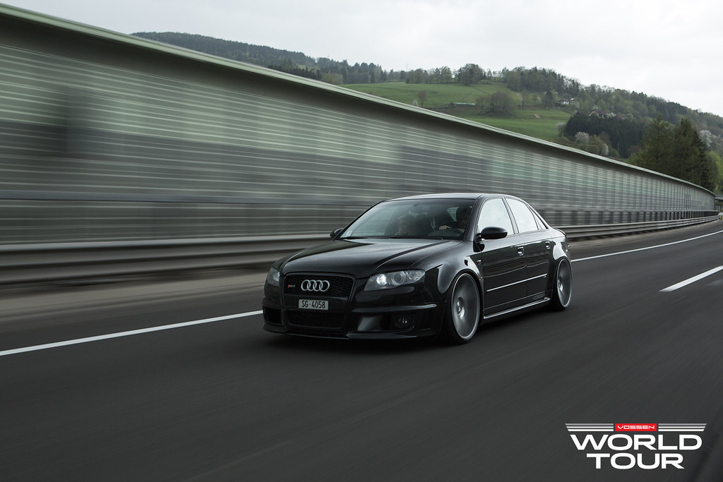 Dual Deep Concave Audi Rs4 Vossen World Tour