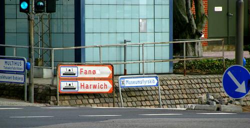 Fanø or Harwich