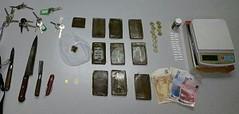 La Policía Local detiene a un individuo tras encontrar en su casa 9 tabletas de hachís