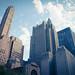 Saint Bart's Church & Waldorf-Astoria, Park Avenue, Manhattan by Jeffrey