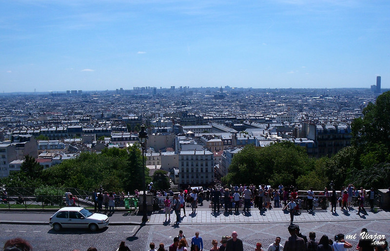Vista de Paris, Montmartre