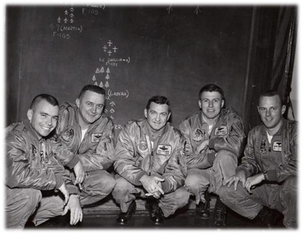 Pilots from the 81st