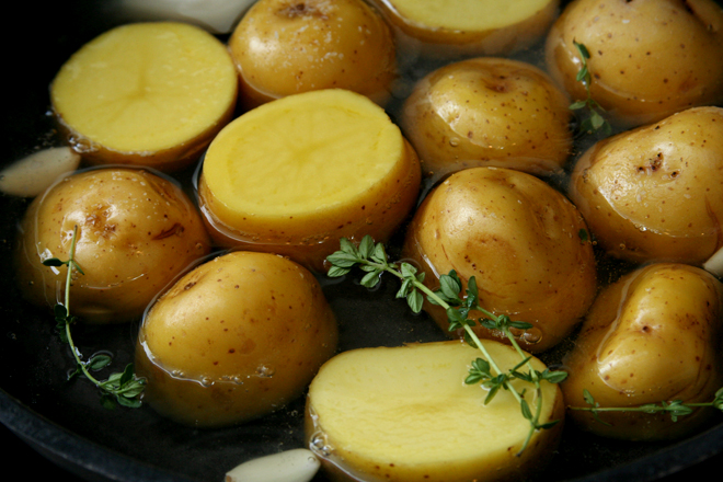 braised potatoes 1