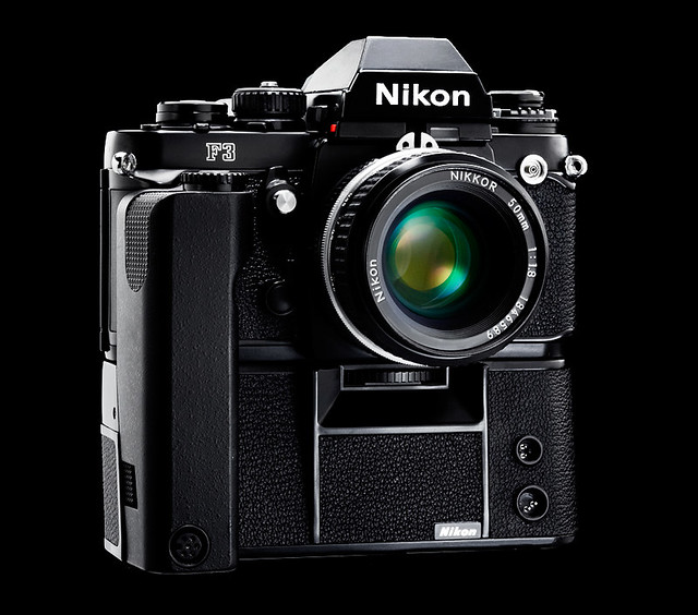 Nikon F3 with MD - 4-