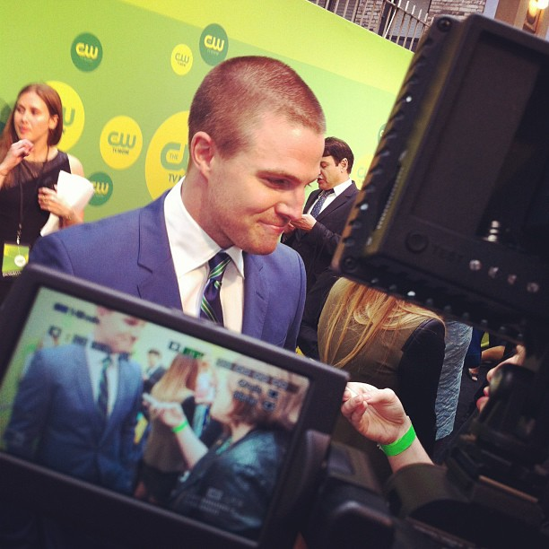 interviewing Arrow! (Stephen Amell)