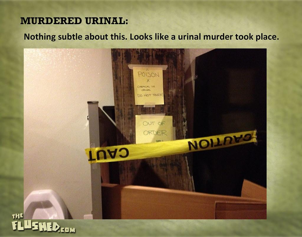 143 Murdered Urinal