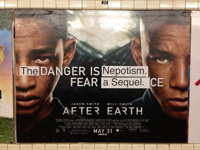 [The] Danger is [Nepotism.] Fear [a Sequel.] (Nassau Ave; Church bound G)
