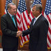 Speaker John Boehner welcomes Recep Tayyip Erdo�an, Prime Minister of Turkey, to the U.S. Capitol. May 16, 2013. (Official Photo by Bryant Avondoglio)  --- This official Speaker of the House photograph is being made available only for publication by news organizations and/or for personal use printing by the subject(s) of the photograph. The photograph may not be manipulated in any way and may not be used in commercial or political materials, advertisements, emails, products, promotions that in any way suggests approval or endorsement of the Speaker of the House or any Member of Congress.