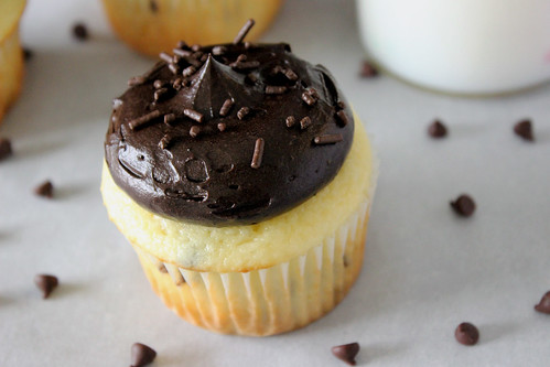 Mint Chip Cupcake