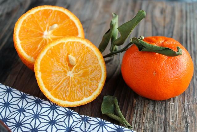 Cuisse de pintade rôtie à l'orange
