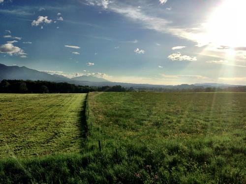 Zugfahrt gen Garmisch