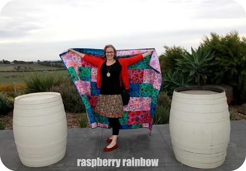 Ta da, I made a quilt!