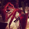 Oh just Bloody Marys with Snow Crab legs. From dinner last night at Garde Manger. #montréal #food #cocktails #quebec