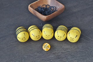 Kinder Surprise Bees Elastic Stripes
