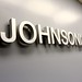 Johnson Law - Fabricated Aluminum Corporate Logo - Chicago