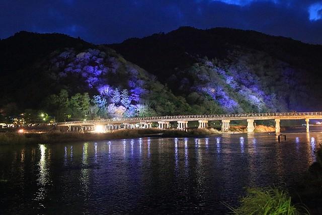 渡月橋 Togetsu-kyo Bridge (KYOTO-ARASHIYAMA)