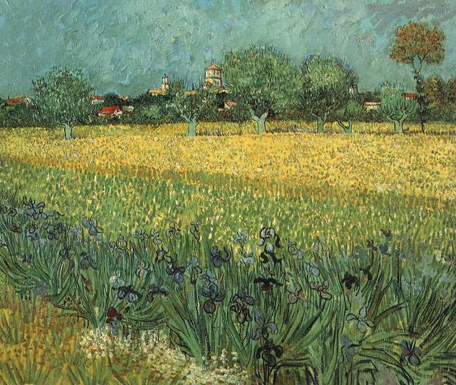 VanGogh-View_of_Arles_with_Irises