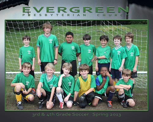 Evergreen 3rd 4th Soccer Spring 2013 1