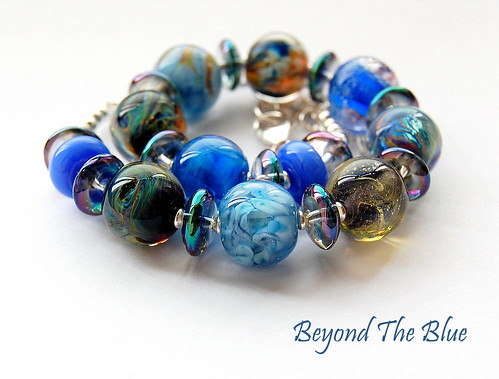 Beyond The Blue Necklace by gemwaithnia