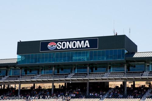 Sonoma Raceway Grandstands