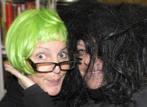 Sisters Lissy Wilson and Rebecca Dru by rebeccadru