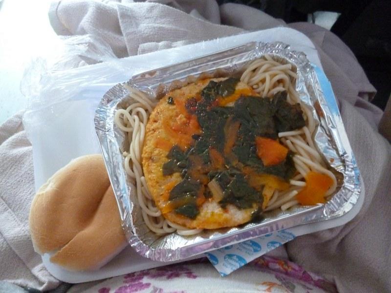 Breakfast on Tur-Bus: Spaghetti
