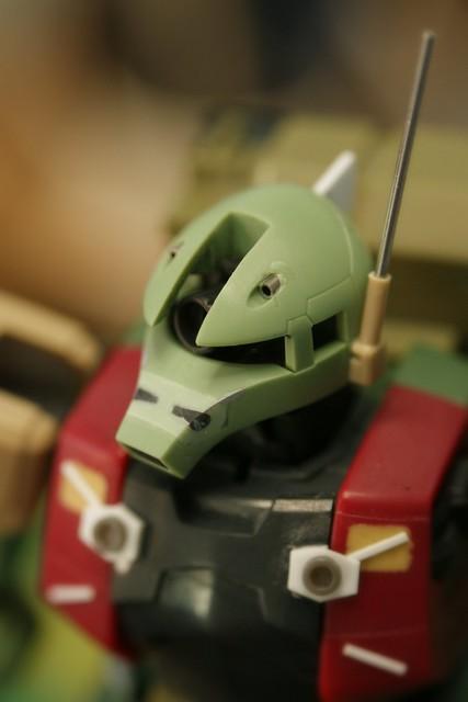 Real Grade - MS-05L Zaku I - Sniper Type - WiP 8 -