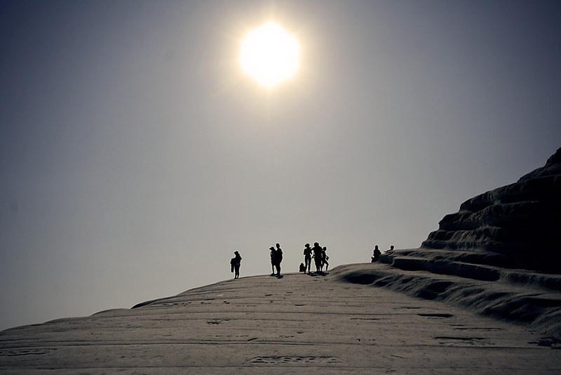 Playa escalera del turco