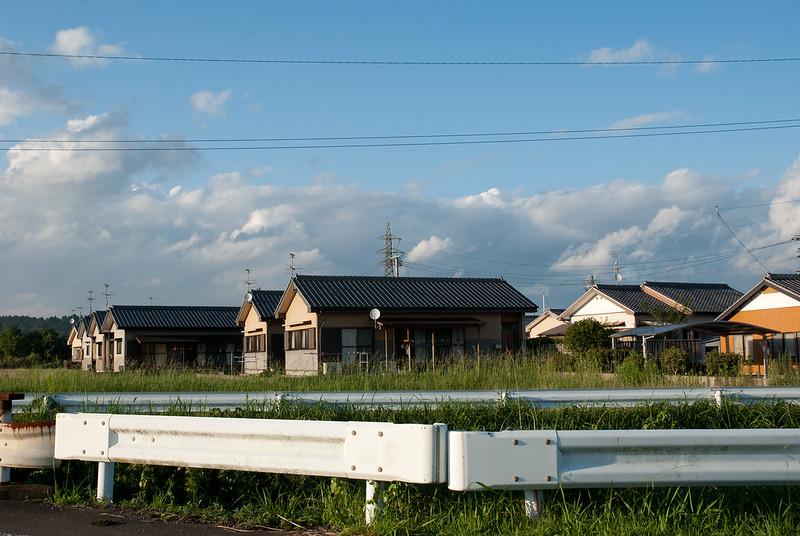 家々houses