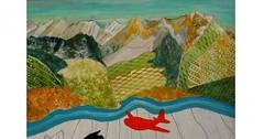 Výstava obrazů Ivy Fryčové ve Švýcarsku
