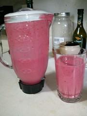 smoothie, drink, juice, milkshake, pink,