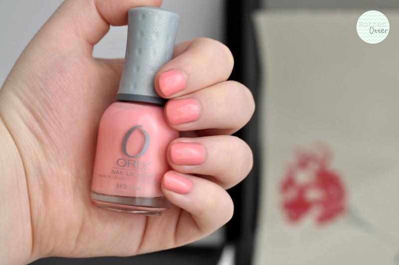 notd orly cotton candy nail polish rottenotter rotten otter blog