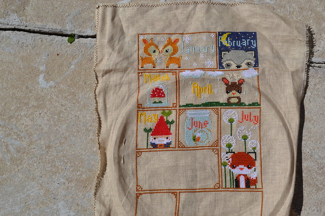 January - July Woodland Sampler