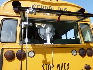 How to keep a bus cool