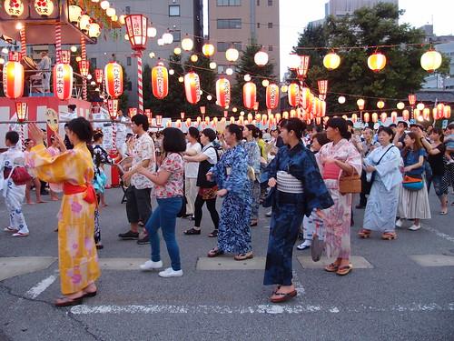 Tsukiji Honganji Bon Dance Festival
