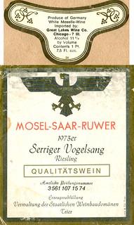 Serriger Vogelsang 1973 (Saar)