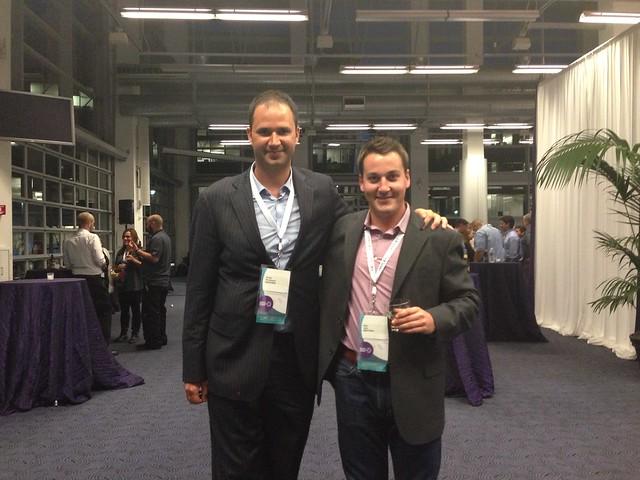 Nextopias Derek Wisniewski (left) and Mike Latty (right)