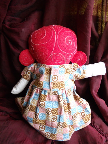 Violet doll - finished