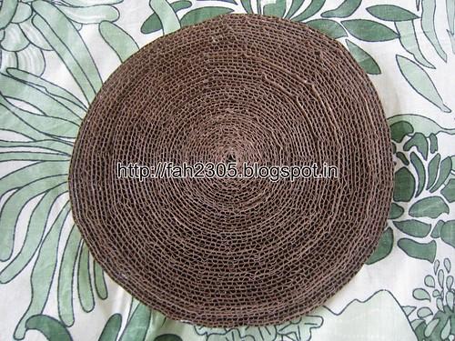 Handmade - Cardboard Bowl (1) by fah2305