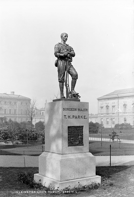 Surgeon Major Parke, I presume!
