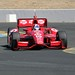 Dario Franchitti apexes the Turn 9 chicane during practice at Sonoma Raceway