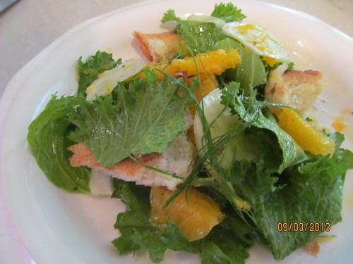 Fennel and Orange Salad with Lemon-Ginger Vinaigrette Kris